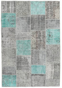 Patchwork Rug 158X231 Authentic  Modern Handknotted (Wool, Turkey)