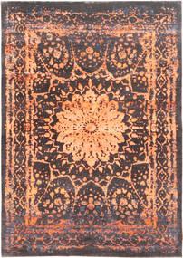 Roma Modern Collection Teppich  170X241 Echter Moderner Handgeknüpfter Dunkelgrau/Hellrosa ( Indien)