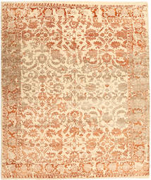 Roma Moderno Collection Alfombra 255X302 Moderna Hecha A Mano Beige/Beige Oscuro Grande ( India)