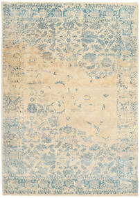 Roma Modern Collection Rug 203X293 Authentic  Modern Handknotted Beige/Light Grey ( India)