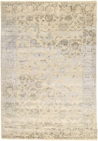 Roma Modern Collection Rug 202X297 Authentic  Modern Handknotted Light Grey/Beige ( India)