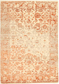 Roma Moderni Collection Tappeto 203X297 Moderno Fatto A Mano Beige Scuro/Beige ( India)