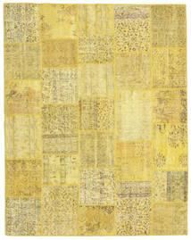 パッチワーク 絨毯 199X253 モダン 手織り 黄色 (ウール, トルコ)