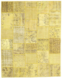 Patchwork Rug 197X251 Authentic  Modern Handknotted Yellow (Wool, Turkey)
