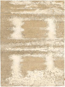 Roma Modern Collection Rug 179X241 Authentic  Modern Handknotted Light Brown/Beige ( India)