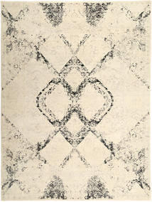 Roma Moderne Collection Tapis 309X417 Moderne Fait Main Beige/Marron Clair Grand ( Inde)