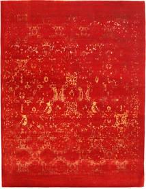 Roma Moderni Collection Matto 281X365 Moderni Käsinsolmittu Ruoste Isot ( Intia)