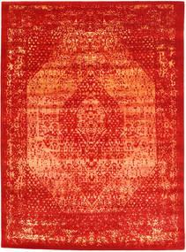 Roma Moderni Collection Matto 270X370 Moderni Käsinsolmittu Ruoste/Punainen Isot ( Intia)
