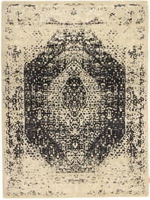 Roma Modern Collection Rug 173X233 Authentic  Modern Handknotted Dark Beige/Beige/Dark Grey ( India)