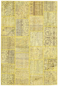Patchwork Rug 158X237 Authentic  Modern Handknotted Yellow/Light Green (Wool, Turkey)