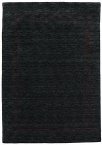 Handloom Gabba - Black/Grey Rug 160X230 Modern Black (Wool, India)