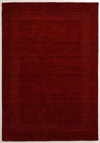 Handloom Gabba - Red Rug 160X230 Modern Dark Red (Wool, India)