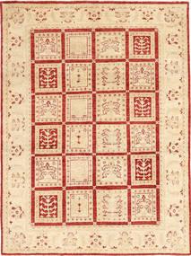 Ziegler Rug 147X203 Authentic  Oriental Handknotted Beige/Dark Beige (Wool, Pakistan)