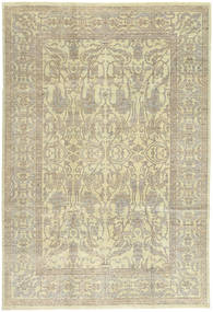 Ziegler Rug 207X307 Authentic  Oriental Handknotted Dark Beige/Olive Green (Wool, Pakistan)