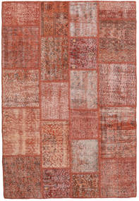 Patchwork Rug 139X205 Authentic  Modern Handknotted Brown/Light Brown (Wool, Turkey)