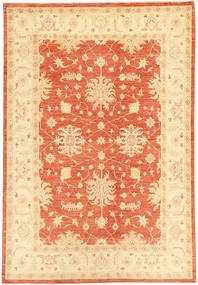 Ziegler Rug 167X248 Authentic  Oriental Handknotted Light Brown/Beige/Orange (Wool, Pakistan)