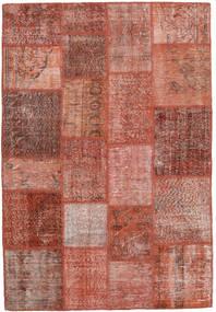 Patchwork Rug 137X204 Authentic  Modern Handknotted Dark Red/Light Brown (Wool, Turkey)