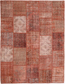 Patchwork Rug 197X254 Authentic  Modern Handknotted Brown/Light Pink (Wool, Turkey)