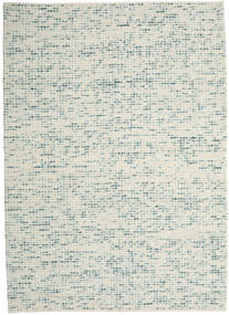 Big Drop - Teal Mix Tapis 240X340 Moderne Tissé À La Main Gris Clair/Beige (Laine, Inde)