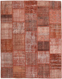 Patchwork Rug 200X254 Authentic  Modern Handknotted Dark Red/Light Pink (Wool, Turkey)