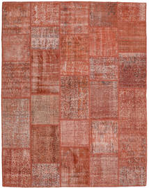 Patchwork Rug 198X254 Authentic  Modern Handknotted Brown/Light Brown (Wool, Turkey)