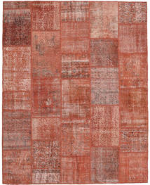 Patchwork Rug 198X249 Authentic  Modern Handknotted Brown/Light Pink (Wool, Turkey)