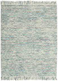 Dolly Multi - Mixed Blue Rug 190X240 Authentic  Modern Handwoven Light Grey/Beige (Wool, India)