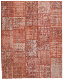 Patchwork Rug 200X253 Authentic  Modern Handknotted Dark Red/Light Pink (Wool, Turkey)