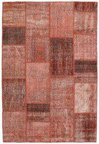 Patchwork Rug 158X234 Authentic  Modern Handknotted Brown/Light Brown (Wool, Turkey)