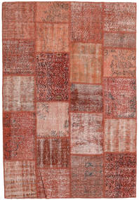 Patchwork Rug 159X230 Authentic  Modern Handknotted Brown/Light Brown (Wool, Turkey)