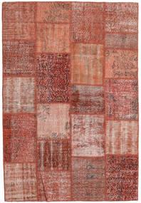 Patchwork Rug 159X230 Authentic  Modern Handknotted Dark Red/Light Brown (Wool, Turkey)
