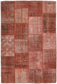 Patchwork Rug 158X233 Authentic  Modern Handknotted Brown/Dark Red (Wool, Turkey)