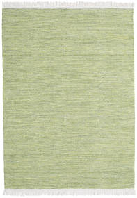 Diamond Wool - Green Rug 140X200 Authentic  Modern Handwoven Light Green/Beige (Wool, India)