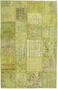 Лоскутные Ковер 194X302 Современный Ковры Ручной Работы Светло-Зеленый/Оливковый (Шерсть, Турция)