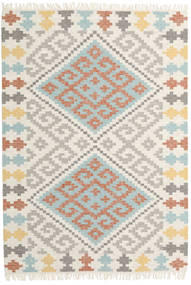 Summer Kilim Rug 160X230 Authentic  Modern Handwoven Light Grey/Beige (Wool, India)