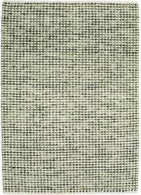 Big Drop - Green Mix Rug 140X200 Authentic Modern Handwoven Olive Green/Beige (Wool, India)