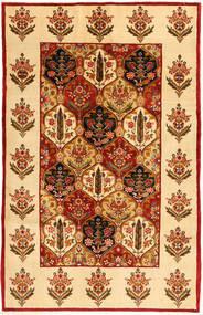 Bakhtiari Rug 158X250 Authentic  Oriental Handknotted Light Brown/Rust Red (Wool, Persia/Iran)