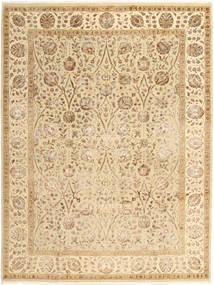 Tabriz Royal Matto 215X285 Itämainen Käsinsolmittu Beige/Tummanbeige/Vaaleanruskea ( Intia)