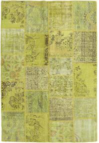 Patchwork Matto 159X234 Moderni Käsinsolmittu Vaaleanvihreä/Keltainen/Oliivinvihreä (Villa, Turkki)