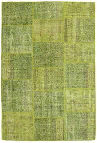 Patchwork Dywan 158X234 Nowoczesny Tkany Ręcznie Jasnozielony/Zielony/Oliwkowy (Wełna, Turcja)