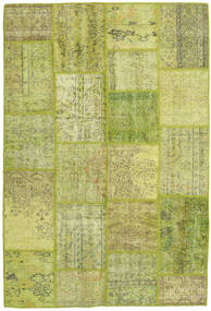 Patchwork Rug 160X236 Authentic  Modern Handknotted Light Green (Wool, Turkey)