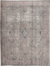 Colored Vintage Rug 290X386 Authentic  Modern Handknotted Light Grey/Dark Grey Large (Wool, Pakistan)