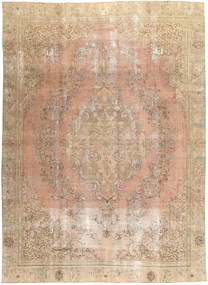 Colored Vintage Rug 266X366 Authentic  Modern Handknotted Light Brown/Light Pink Large (Wool, Pakistan)