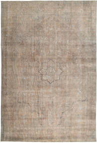 Colored Vintage Tapis 226X338 Moderne Fait Main Marron Clair (Laine, Pakistan)