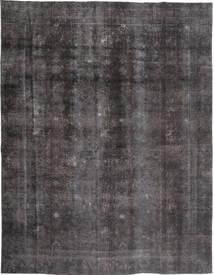 カラード ヴィンテージ 絨毯 268X353 モダン 手織り 濃いグレー/黒 大きな (ウール, パキスタン)