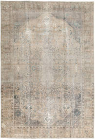 Colored Vintage Rug 199X295 Authentic  Modern Handknotted Light Grey (Wool, India)