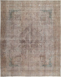 Colored Vintage Rug 293X381 Authentic  Modern Handknotted Light Grey Large (Wool, Pakistan)