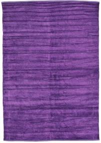 Kelim Chenille - Diep Paars tapijt CVD17121