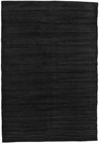 キリム シェニール - カーボンブラック色 絨毯 CVD17137