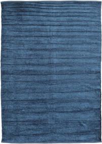 キリム シェニール - ミッドナイトブルー色 絨毯 CVD17145